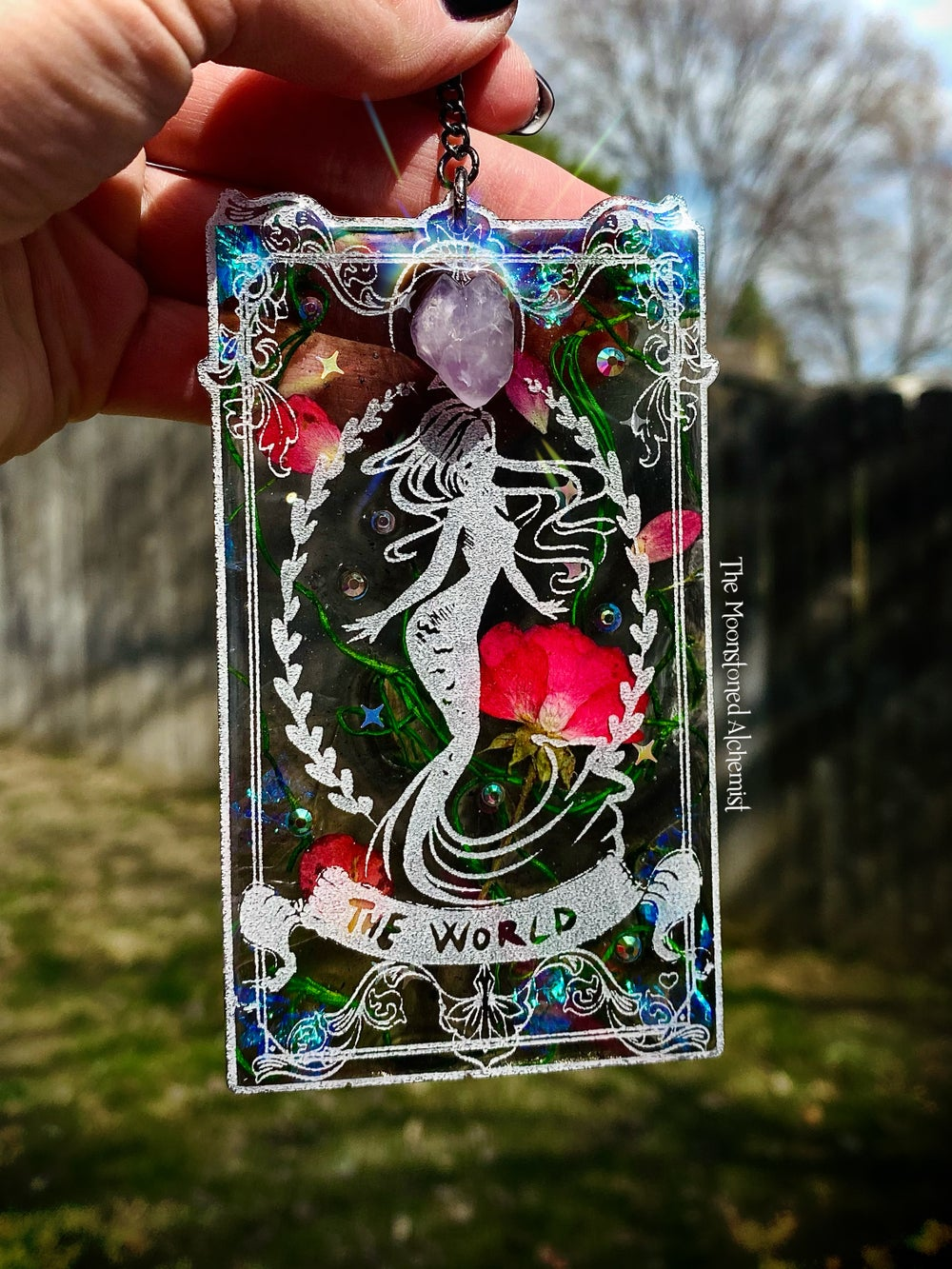Image of The World First Edition Tarot Card