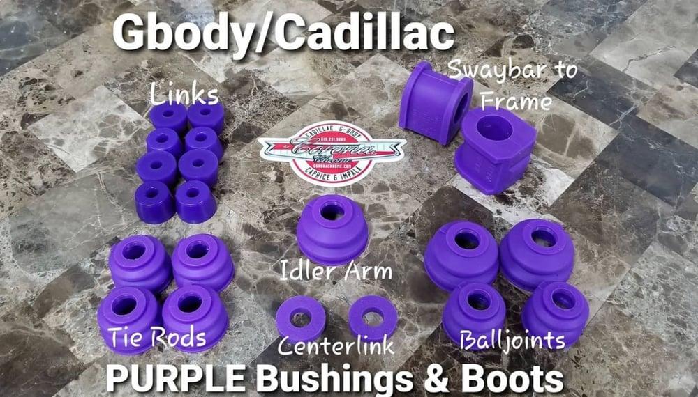 Image of GBODY / CADILLAC PURPLE BUSHING & BOOTS