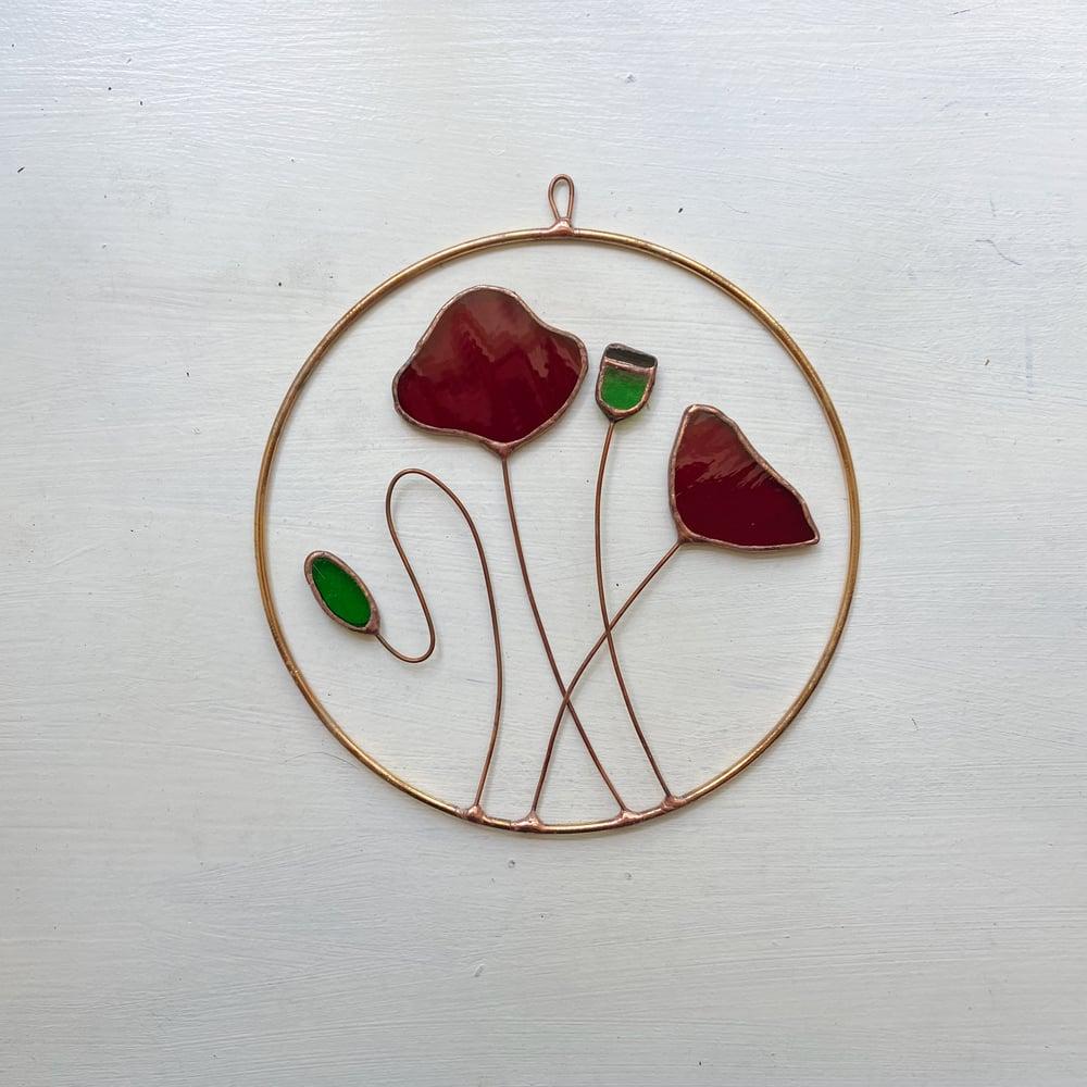 Image of Poppy Wreath no.3