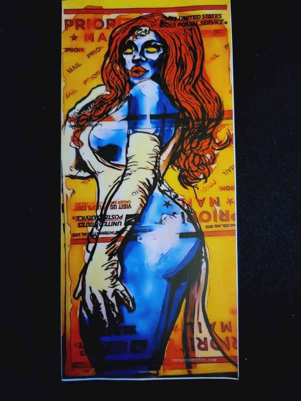 Image of Mystique - large scale sticker