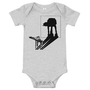 Image of AT-AT Shadow - infant one-piece