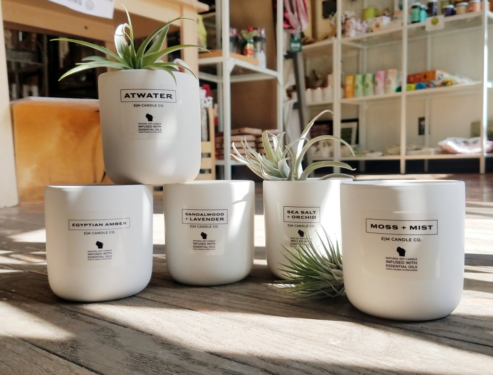 Image of Elm Candle Co Natural Soy Candles