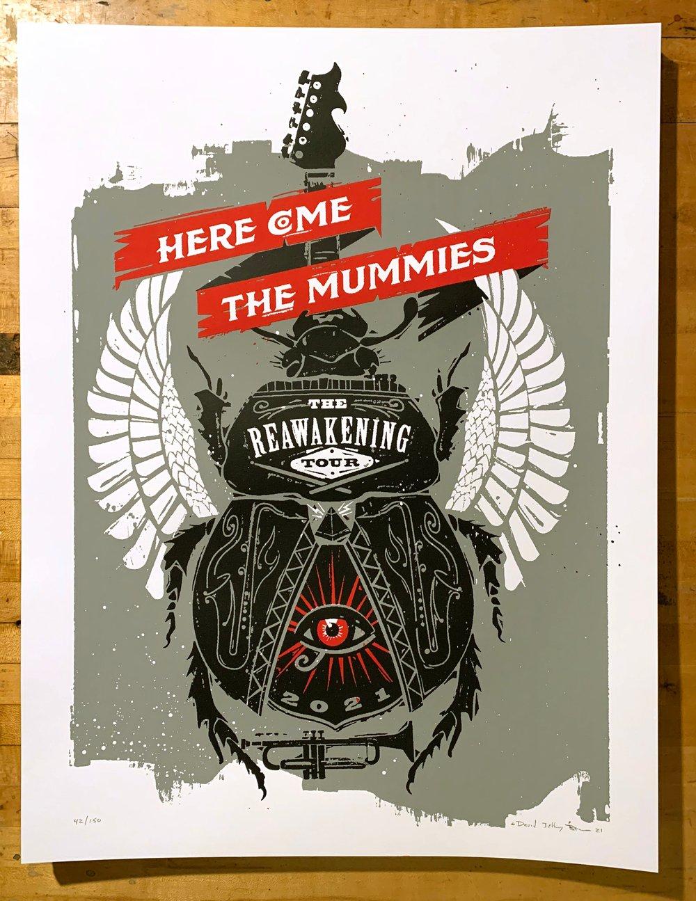 Here Come the Mummies - Reawakening Tour 2021