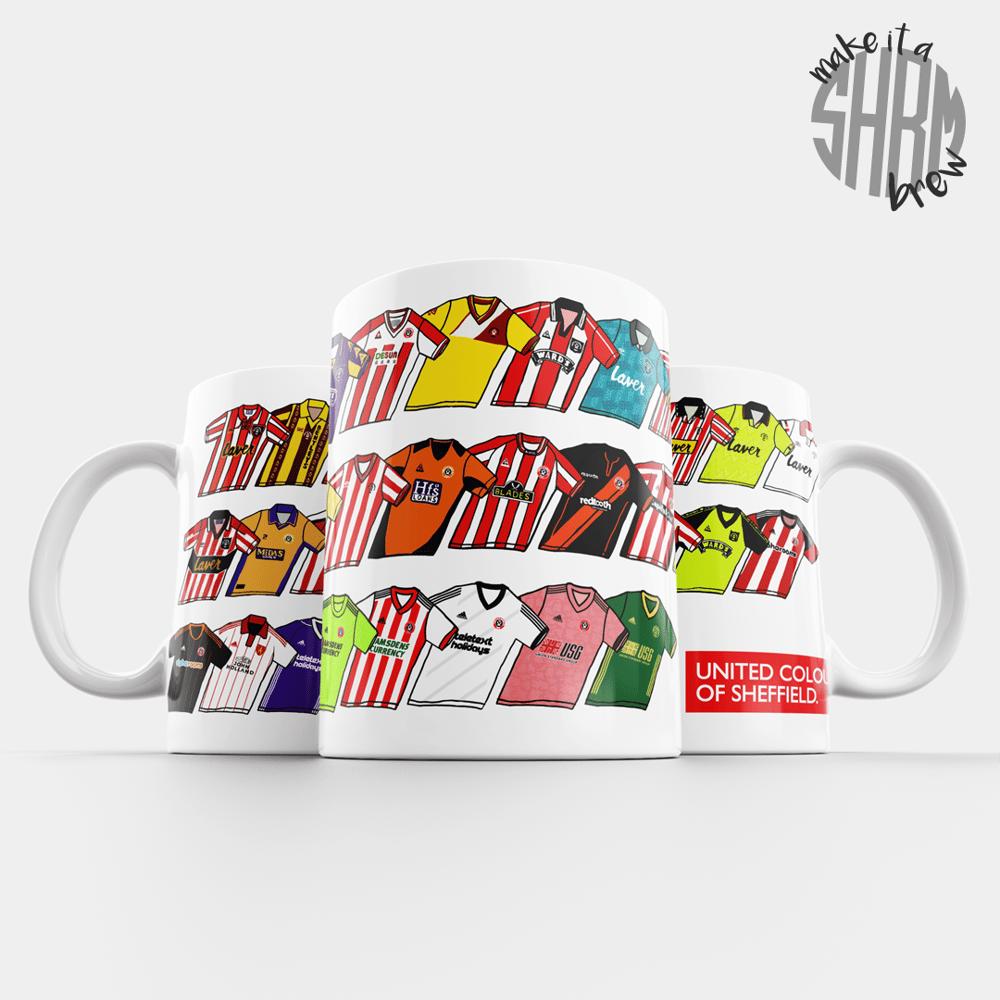 Image of United Colours of Sheffield Mug