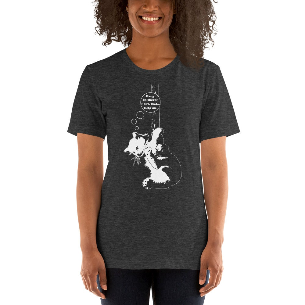 Image of Hang In There - unisex/men's tee