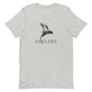 Image of Rat with Wings (aka Pigeon) - Oakland. unisex/men's tee