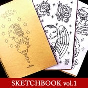 Image of SKETCHBOOK Vol.1 by Txema Cañada