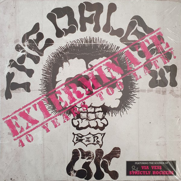 """the DALEKS - """"Exterminate: 40 Years Too Late"""" LP"""
