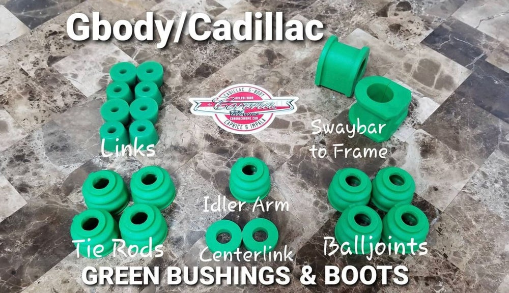 Image of GBODY / CADILLAC GREEN BUSHING & BOOTS