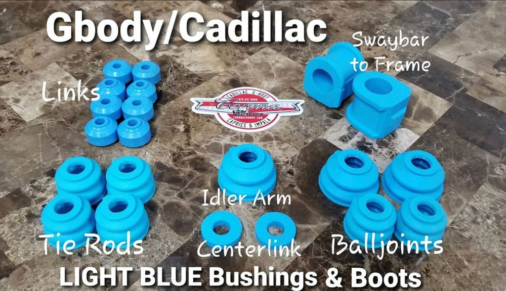 Image of GBODY / CADILLAC TEAL BUSHING & BOOTS