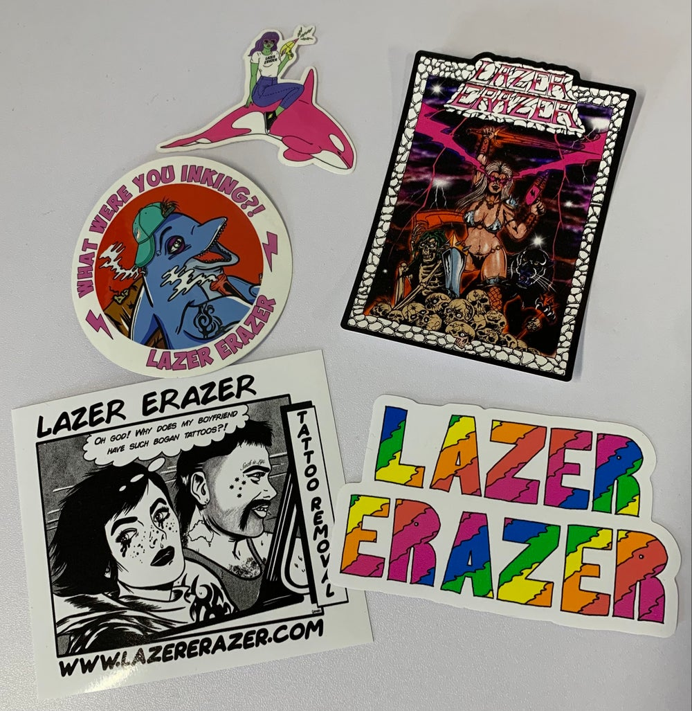 Image of STICKER PACK !