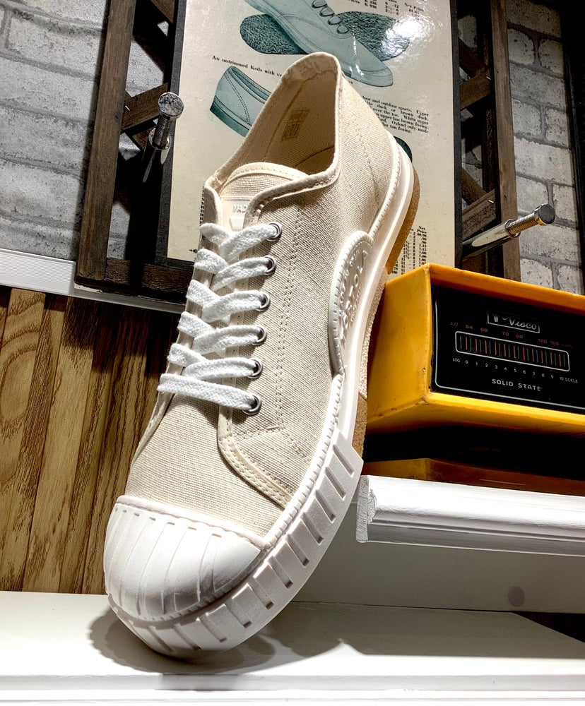 Image of Tortola canvas lo top sneaker shoes made in Spain