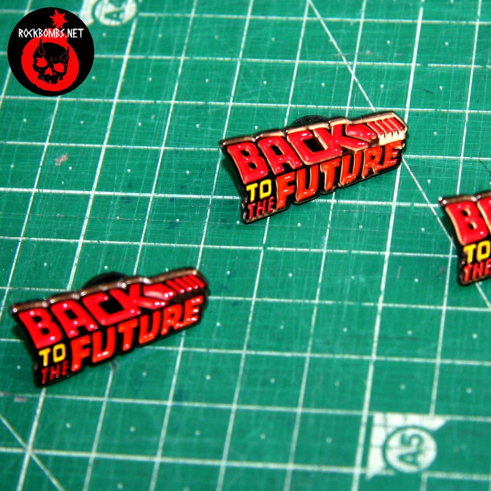 PIN BACK TO THE FUTURE