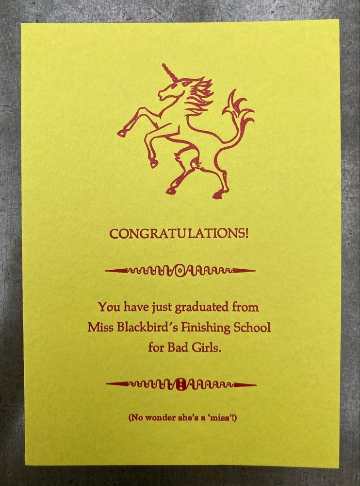 Image of Congratulations! card