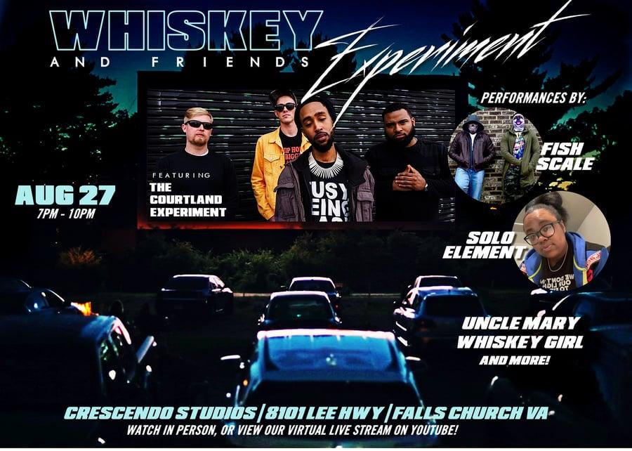 Image of #WhiskeyAFAugust27 VIRTUAL TICKET