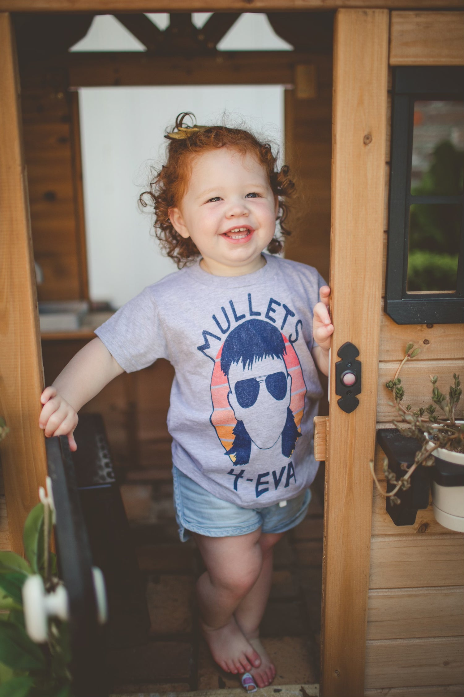 Image of Youth Mullets 4 Eva Short Sleeve Tee (Dryfit)