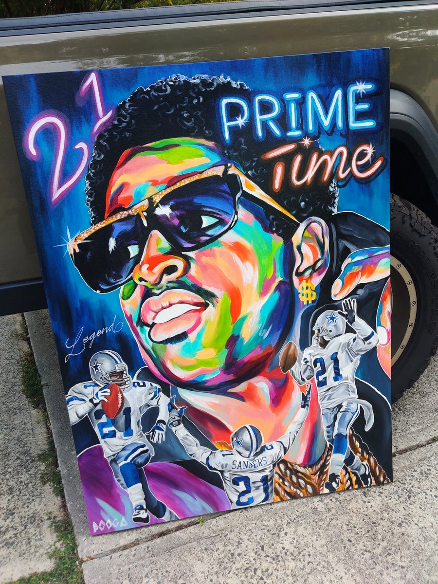 Image of Prime Time - Canvas Print