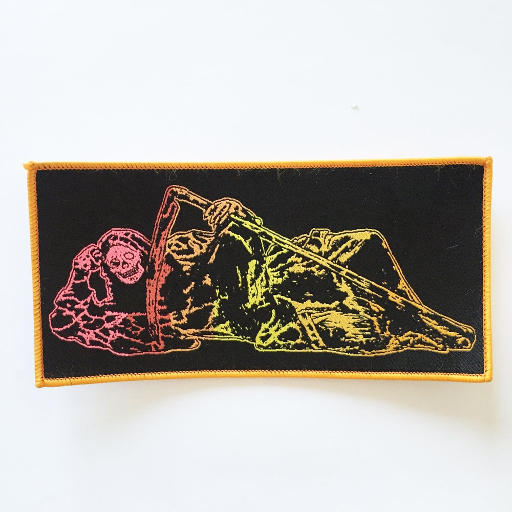Image of 'REAPER - LAX' WOVEN PATCH