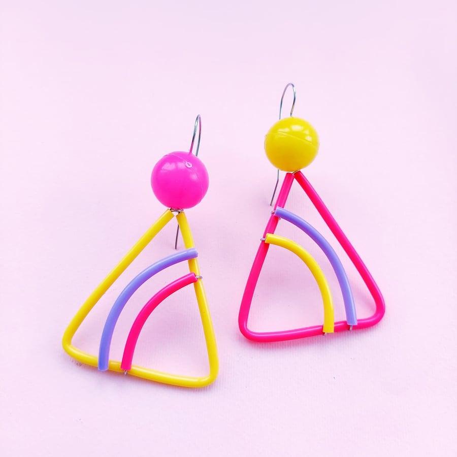 Image of 〰️Mini 〰️windsurfer earrings