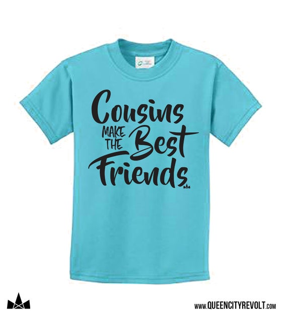 Image of Cousins Make the Best Friends, Blue