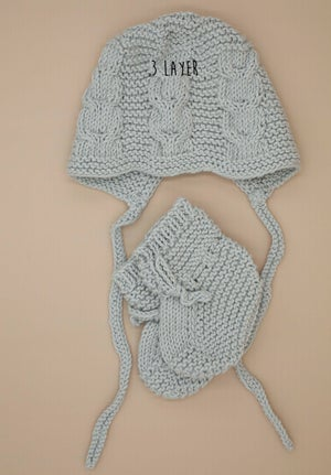 Image of Limited one off knitted Bonnets