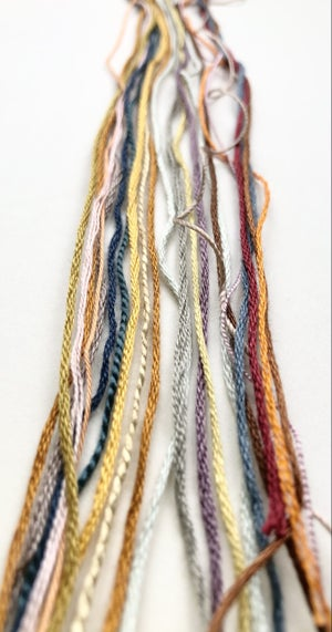 Seedheads Embroidery Kit