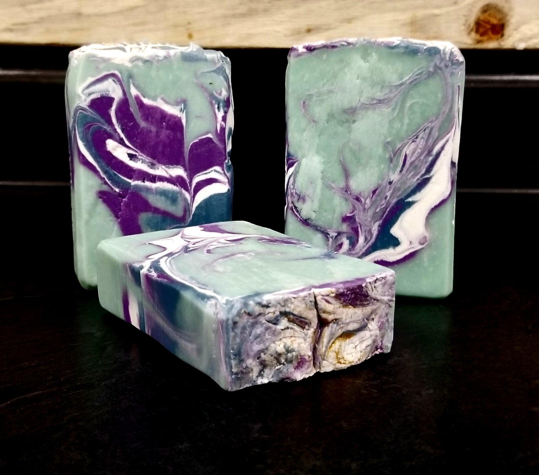 Image of Lavender Basil -coconut milk soap