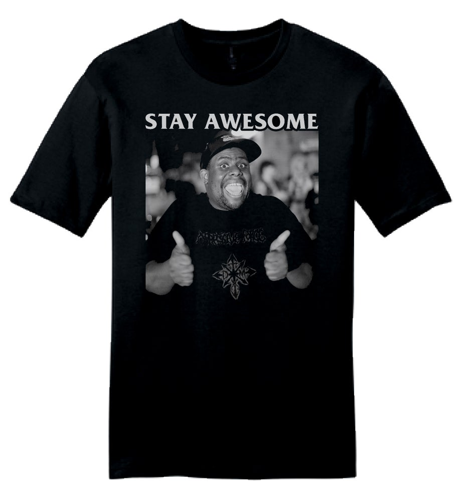 """Image of """"Stay Awesome"""" Fundraiser Shirt"""