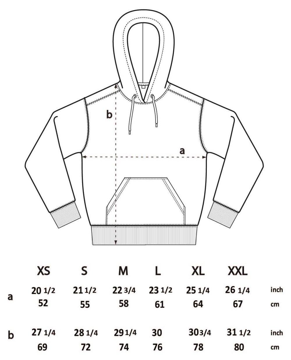 Shark Slate Green Unisex Hood (Organic)