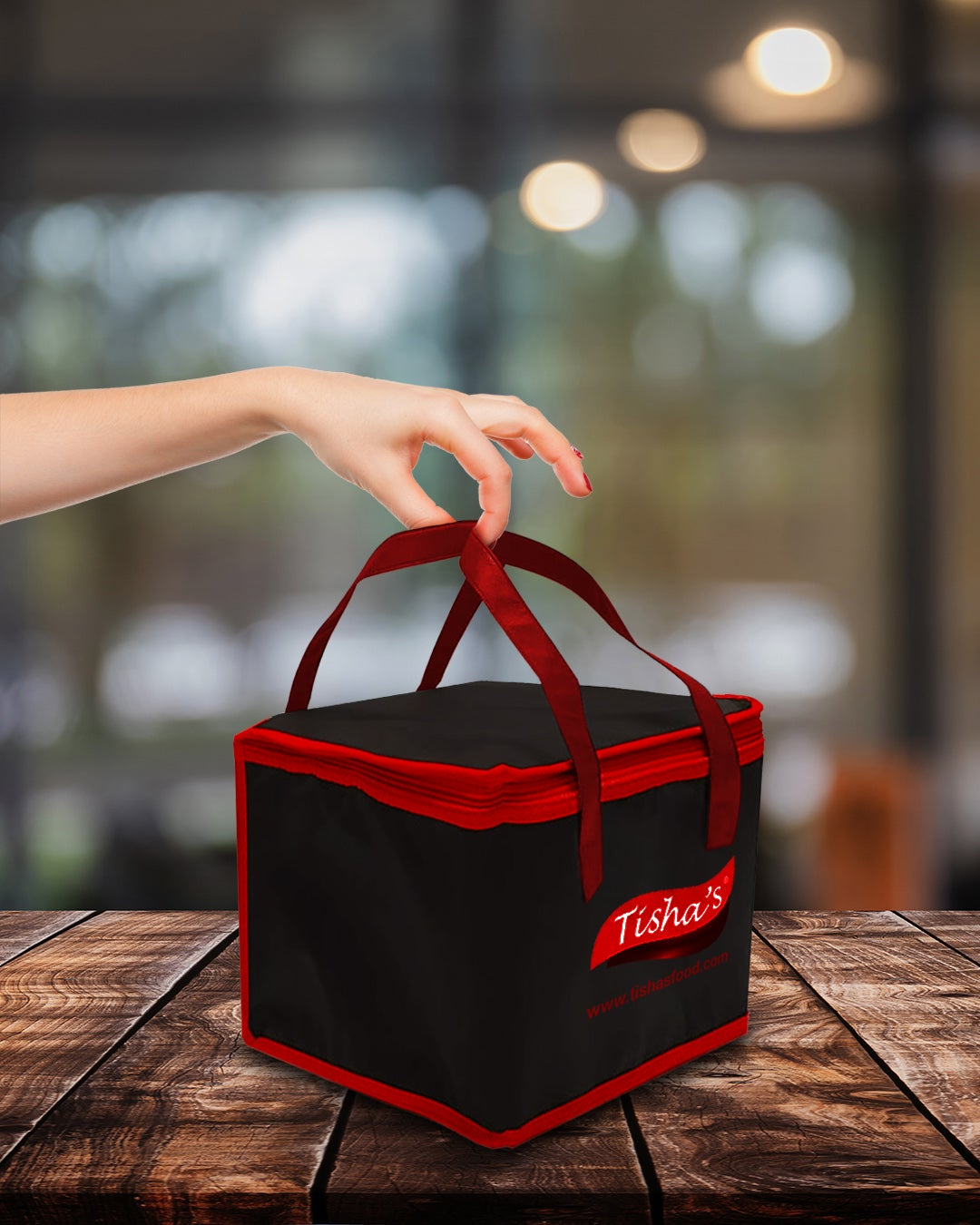 Image of Tishas Reusable Insulated Cooler Bag