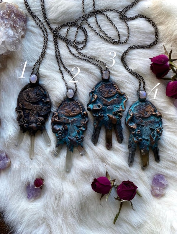 Image of Mermaid Lagoon Crystal Amulets