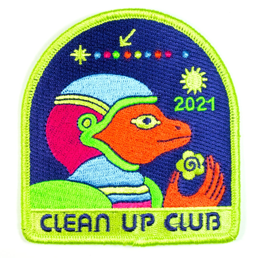 Clean Up Club 2021 Patch