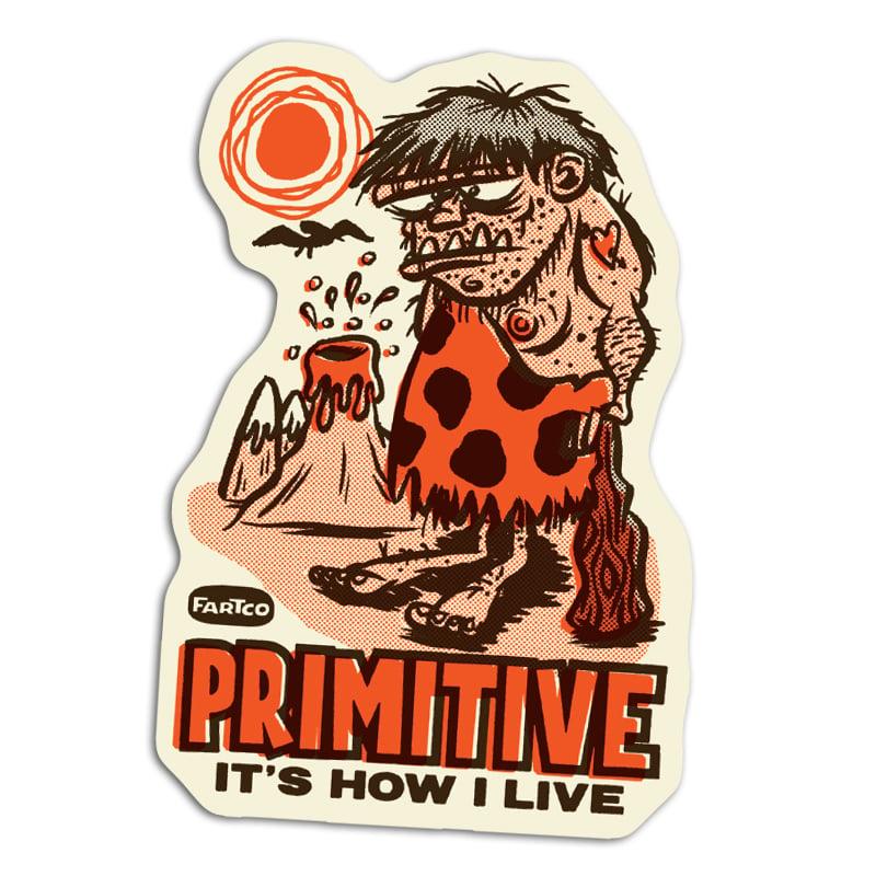 Image of Primitive Sticker