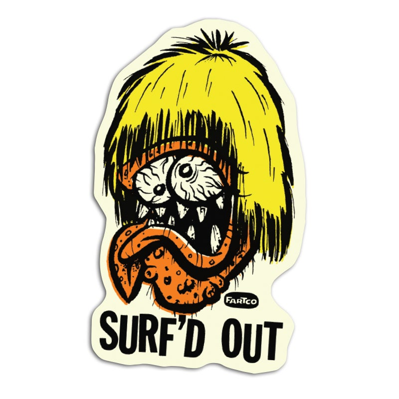 Image of Surf'd Out Sticker