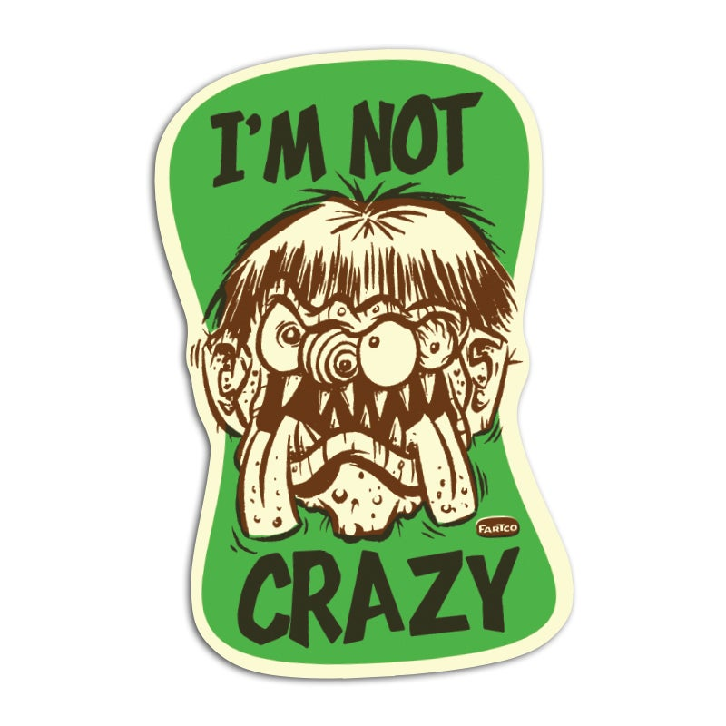 Image of Crazy Sticker