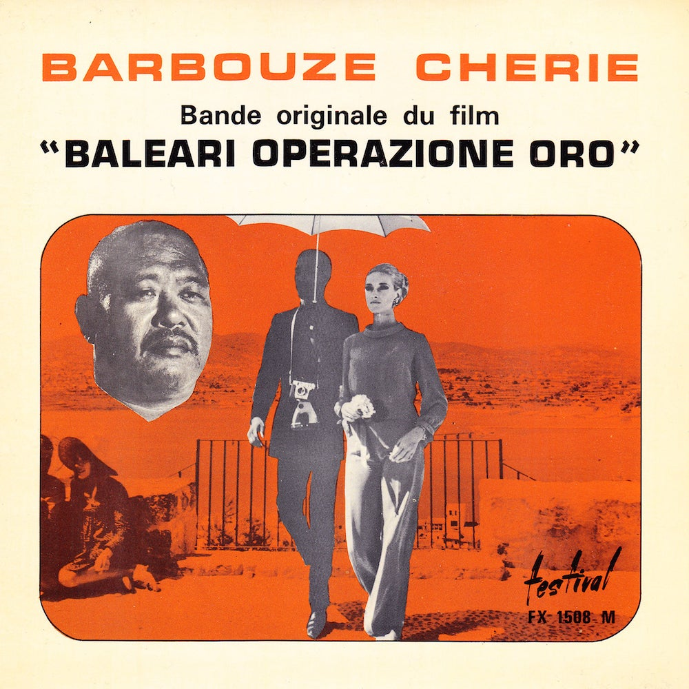 Benedetto Ghiglia - Barbouze Chérie (Disques Festival - 1966)