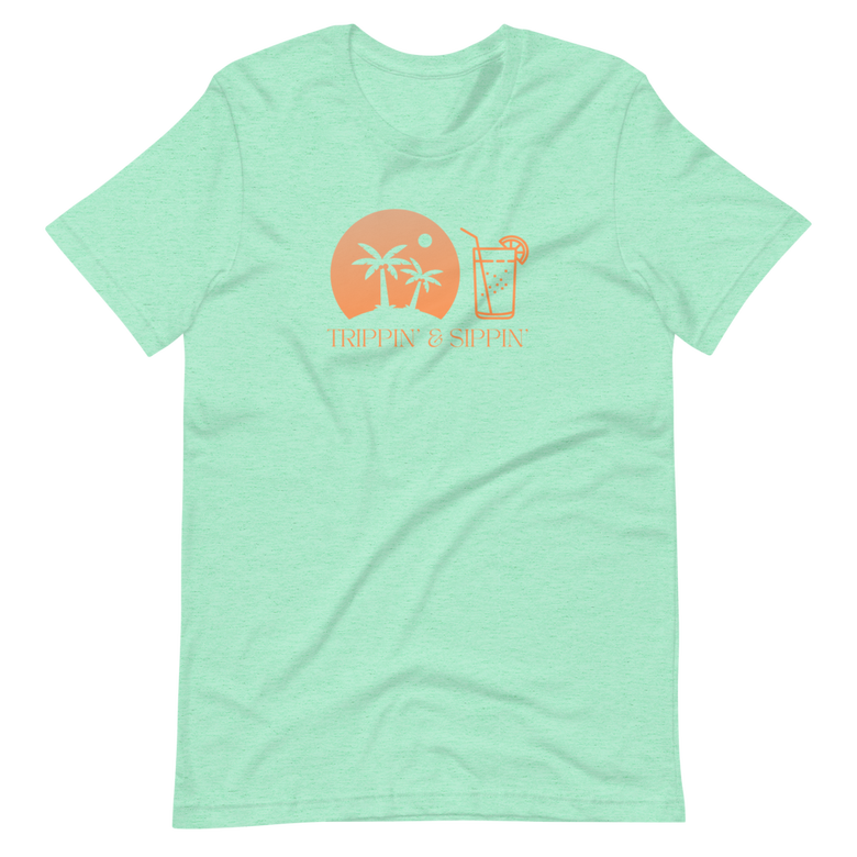 Image of Trippin' & Sippin' - Heather Mint
