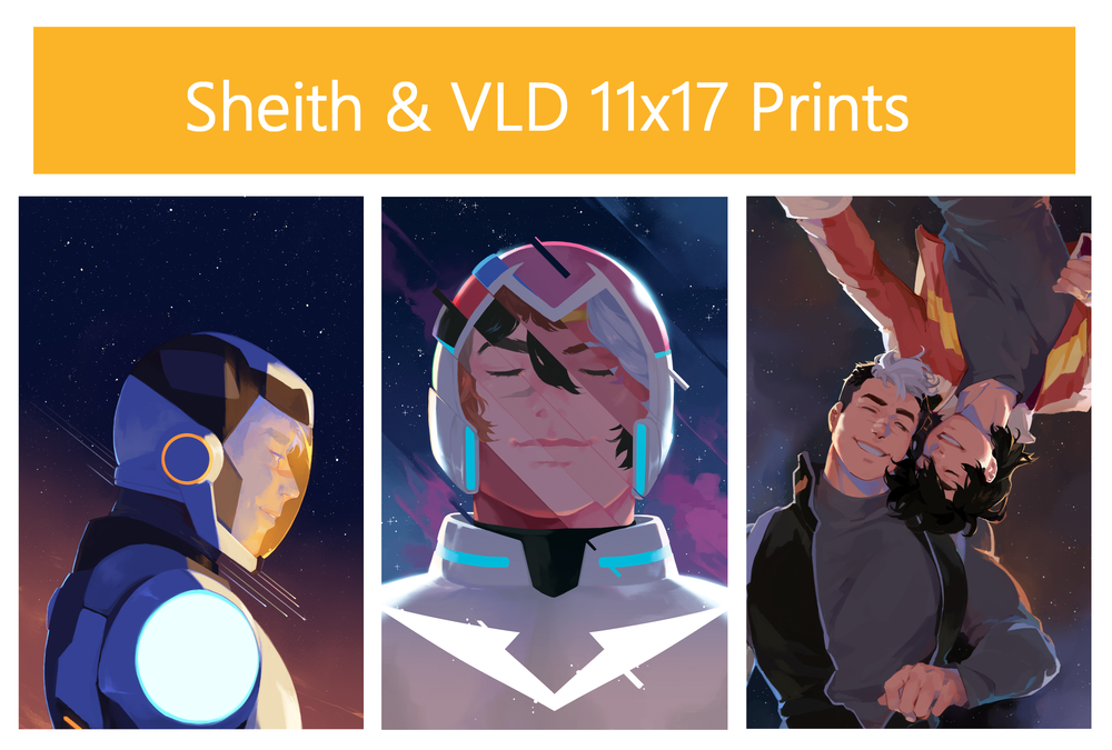 Image of Sheith & VLD // 11x17 Prints