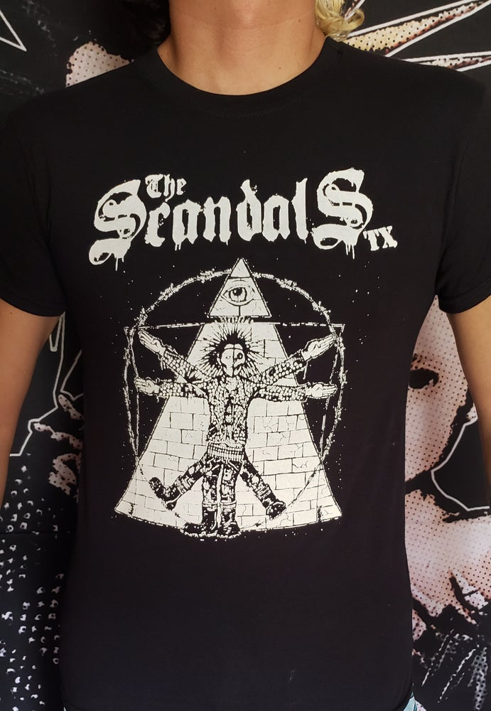 Image of The Scandals TX - Da Vinci Punk - DIY print