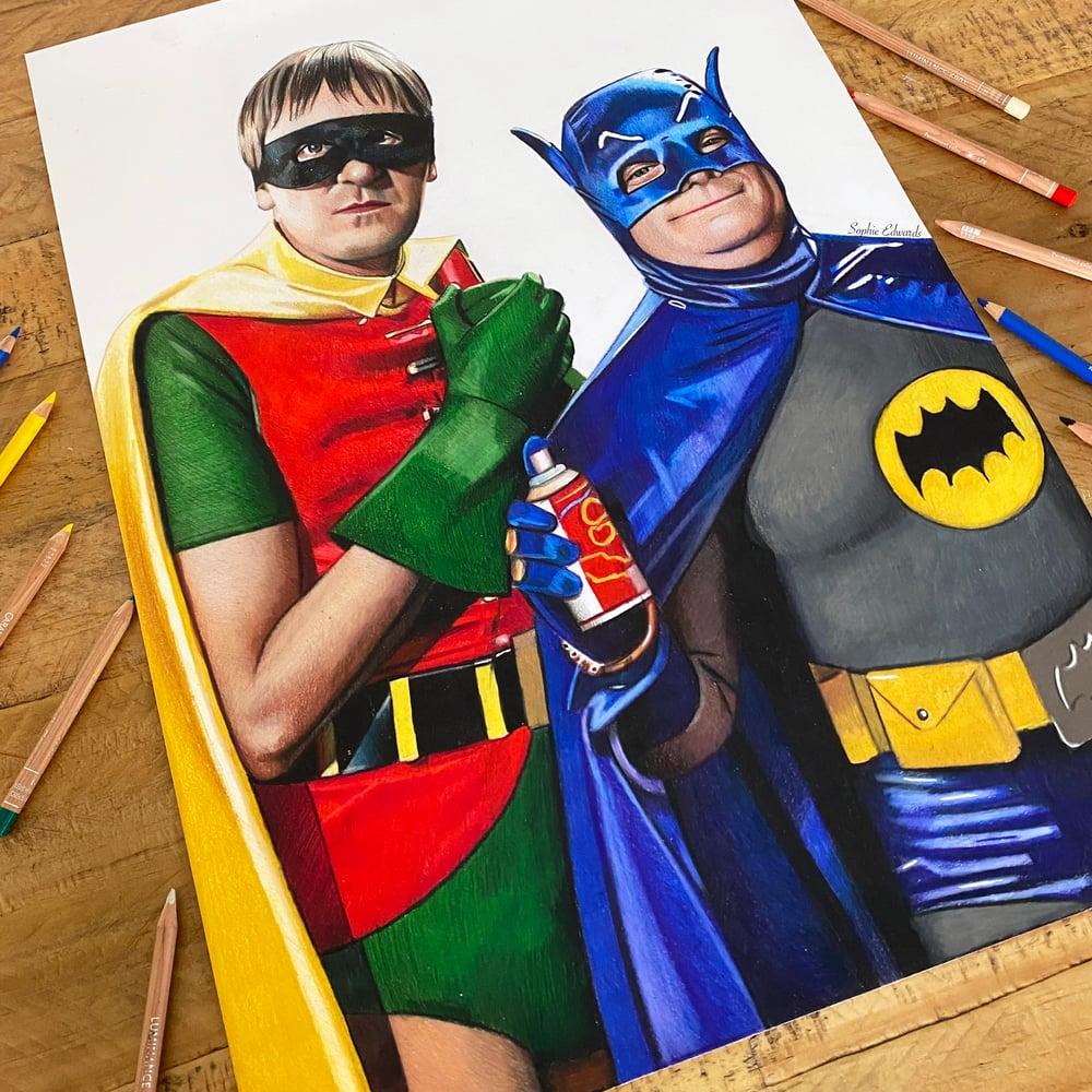 Image of Del Boy & Rodney (Batman & Robin) Print