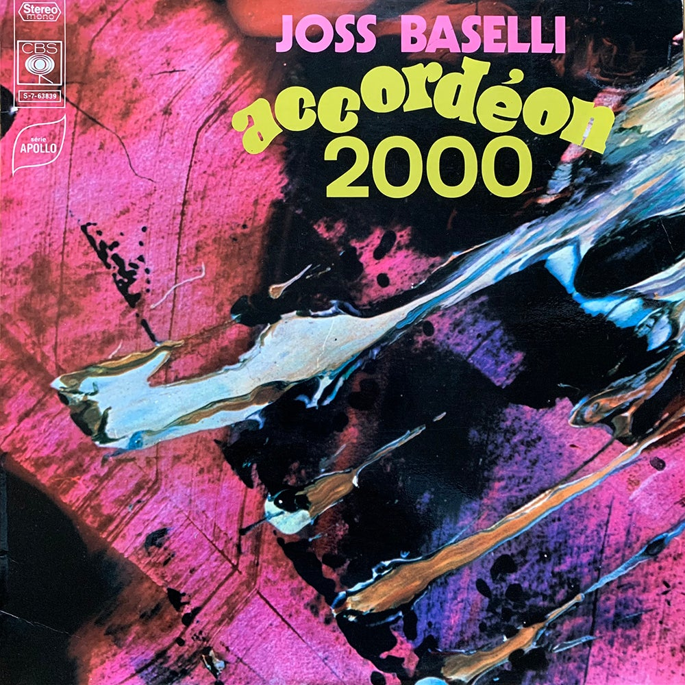 Joss Baselli - Accordéon 2000 (CBS - 1970)