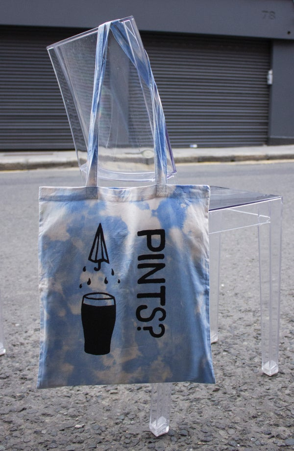 Image of Cloudy with a Chance of.. Pints? Tote Bag