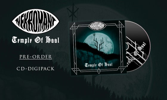 Image of Pre-order: Nekromant - Temple Of Haal (CD)