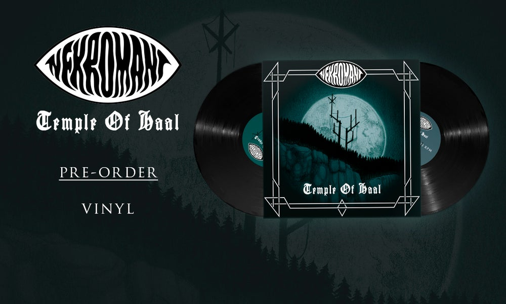Image of Pre-order: Nekromant - Temple Of Haal (Double Black Vinyl)