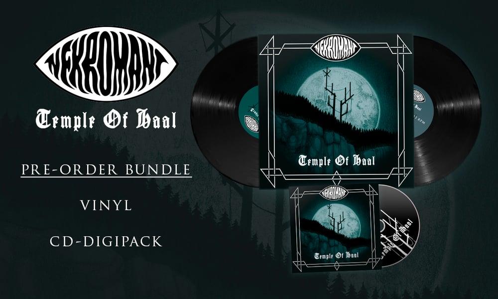 Image of Pre-order: Nekromant - Temple Of Haal (Vinyl & CD)