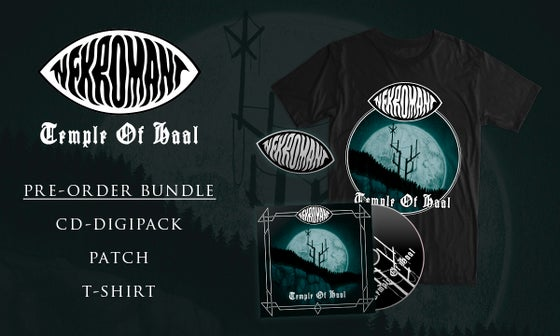Image of Pre-order: Nekromant - Temple Of Haal (CD, Patch, T-shirt)