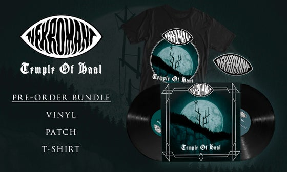 Image of Pre-order: Nekromant - Temple Of Haal (Vinyl, Patch, T-shirt)