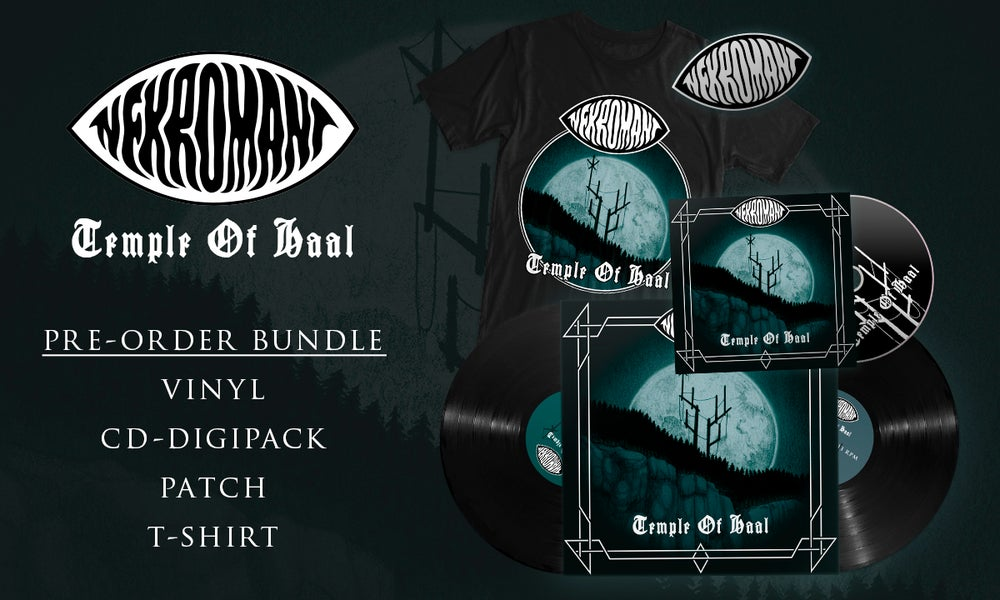 Image of Pre-order: Nekromant - Temple Of Haal (Vinyl, CD, Patch, T-shirt)