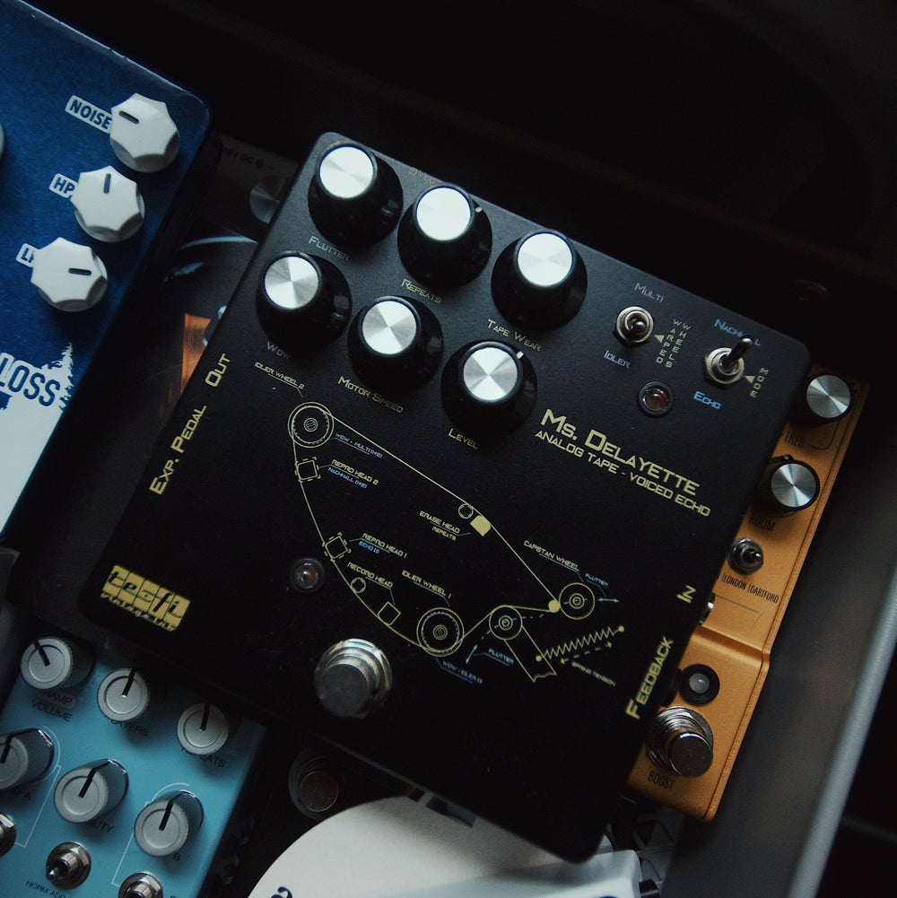 Image of TeFi Vintage Labs Ms. Delayette Analog Tape-Voiced Echo