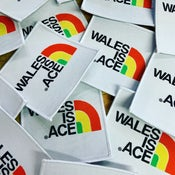 Image of WALES IS ACE Sew On Patch
